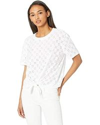 0791acfb Gucci Women's White Silk Jersey Long Sleeve T-shirt From Viaggio ...