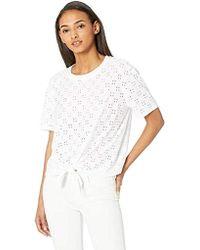 fb02960e9 Gucci Women's White Silk Jersey Long Sleeve T-shirt From Viaggio ...