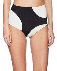 Mara Hoffman - Lydia High Waisted Bikini Bottom Swimsuit - Lyst
