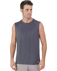 Russell Athletic Dri-power Performance Mesh Sleeveless Muscle - Blue