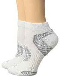 Columbia 2-pack Low Cut Walking Socks - White