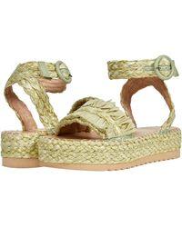Matisse Platform Sandal Wedge - Metallic