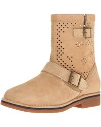 Hush Puppies Aydin Catelyn Perf Boot - Brown