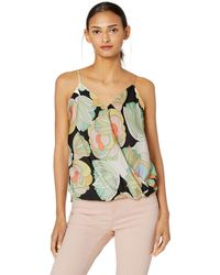 Bailey 44 Tune In Floral Cami Top - Black