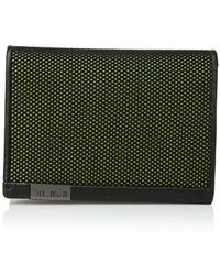 Tumi - Alpha - Gusseted Card Case With Id (black) Credit Card Wallet - Lyst