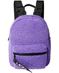UGG Dannie Mini Backpack Faux Fur - Purple