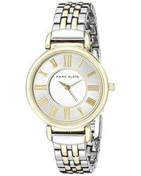 Anne Klein - Bracelet Watch - Lyst