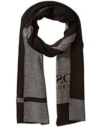 BOSS - Ciny Knitted Scarf - Lyst