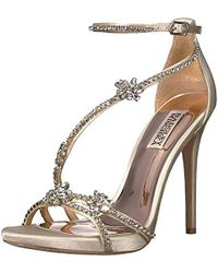 Badgley Mischka - Hodge Heeled Sandal - Lyst