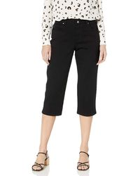 Lee Jeans Relaxed Fit Capri Pant - Nero