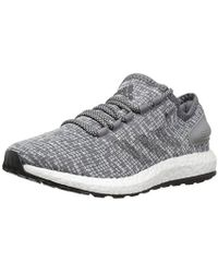 adidas - Pureboost Running Shoe, Dark Heather/clear Grey, 7.5 M Us - Lyst