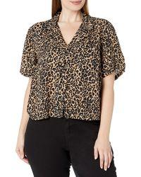 Volcom Gen Wow Boxy Short Sleeve Plus Size Shirt - Black