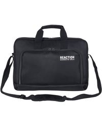 """Kenneth Cole Reaction Two-tone Heathered 15.6"""" Laptop Case - Black"""
