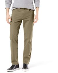 Dockers Straight Fit Ultimate Jean Cut Pants - Natural