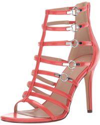 BCBGeneration - Jean Caged Dress Sandal Heeled - Lyst