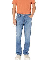 AG Jeans The Protégé Straight Led Denim Pant - Blue