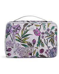 ed1125a8b3 Vera Bradley Large Blush & Brush Makeup Case - Lyst