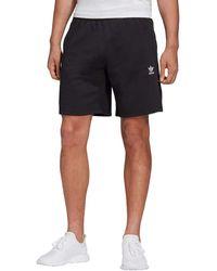 adidas Originals ,mens,trefoil Essentials Shorts,black,medium