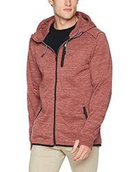 Rip Curl - Departed Anti Series Zip Up Hooded Fleece Sweatshirt, - Lyst