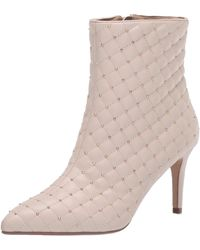 Nanette Lepore Nanette By Nanette Lepore Aubree High Heel Bootie - Natural