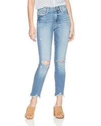 PAIGE - Hoxton Ankle Peg Jeans - Lyst