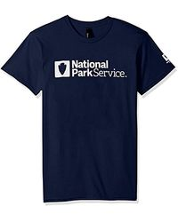 Hanes - Graphic T-shirt Collection, Navy/national Park Service, Large - Lyst