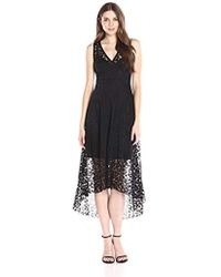 Tracy Reese - Burnout Lsoft Lace Dress - Lyst