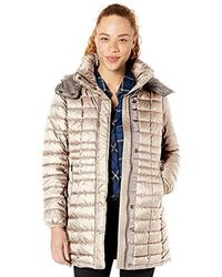 Marc New York Marble Puffer Coat - Natural