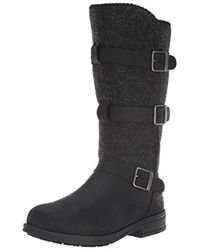 Woolrich Frontier Wrap Fashion Boot - Black
