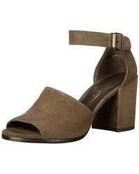 8926ce5684c Lyst - Stuart Weitzman Fourbucks Sandals in Brown