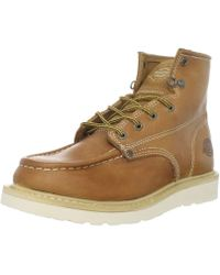 """Dickies Trader 6"""" Leather Shoe - Brown"""