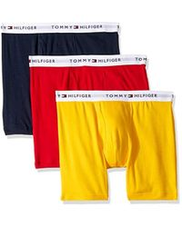 28cf33eeb3da Tommy Hilfiger Underwear 3 Pack Cotton Classics Boxer Briefs for Men - Lyst