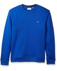 9cbc1234 Lacoste Long Sleeve Light French Terry Tonal Croc Sweatshirt, Sh3298 ...