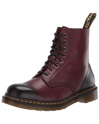 Dr. Martens Pascal Combat Boot - Red