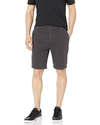 Hudson Jeans Relaxed Chino Short Twill - Gray