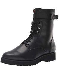 Franco Sarto Canon2 Combat Boot - Black