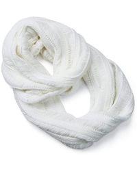 Rip Curl Glunge Circular Scarf - White