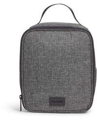 Vera Bradley Recycled Lighten Up Reactive Hanging Travel Organizer Packing Accessories - Gray