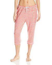 Lyst - Kensie Keepin  Cozy Panda Pajama Set in Gray 0f2d608bf