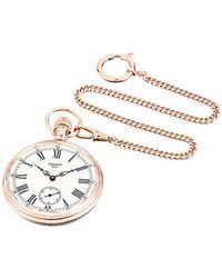 Tissot - Unisex Lepine Mechanical Brass Pocket Watch (model: T8614059903301) - Lyst
