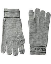 7093aa4c0b51d Men's Armani Exchange Gloves - Lyst