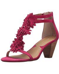 Adrienne Vittadini Footwear Patino Heeled Sandal - Multicolor