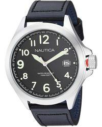 Nautica NAPGLP001 Glen Park Analog-Quartz Black Watch - Metallizzato