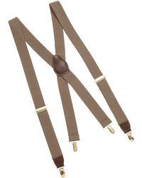 Dockers Solid Suspender - Natural