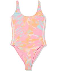 adidas Originals One Piece Swim - Pink