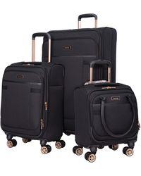 Kensie 3 Piece Luggage Set - Black