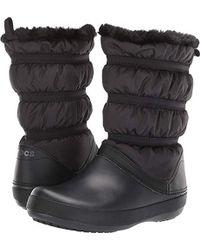 Crocs™ - Crocband Winter Boot W - Lyst