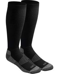 Dickies Light Comfort Compression Over-the-calf Socks - Black