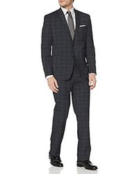 Geoffrey Beene Two-button Suit - Blue