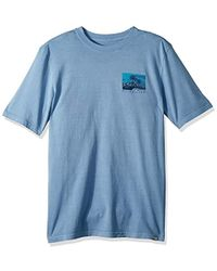 Quiksilver - Short Sleeve Durable La Rhune - Lyst